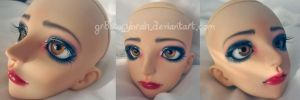 DollZone Cherry Faceup by gr8storybrah