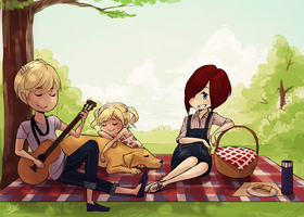 :C: Picnic by Wernope