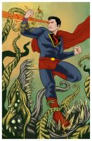 Max's Superman by brandnewcicada