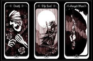 Trio of Tarot by kidoho