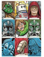 Star Wars sketch cards 5 by JasonGoad