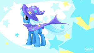 Trixie in the wind 2 16:9 by mysticalpha