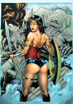 Wonder Woman By Leomatos2014-db2lv1lcolor2 by Mzta