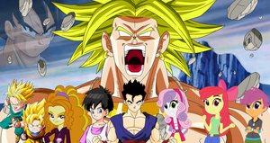 Dimension Mix Up: Broly's Second Coming by DigitBrony
