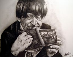Patrick Troughton by Marker-Mistress