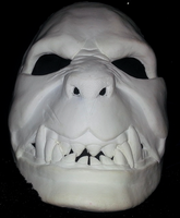 Moster Mask WIP First Cast 3 by foxdog77
