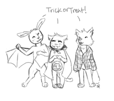 Trick or treat by Alisha-town