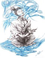 The Energy Flow of Meditation by giorjoe