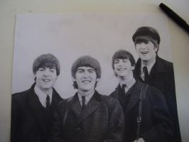 The Beatles by honey-murphy