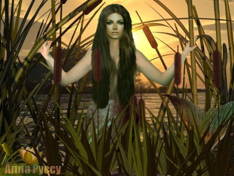 Mermaid at the lake by Lairiel-elvin