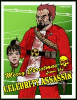 Merry Xmas from the Celeb Assassin by CitizenWolfie