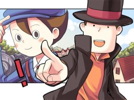 Professor Layton by raina0918