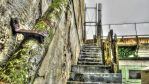 Stairs above the mortuary by just-scream-baby