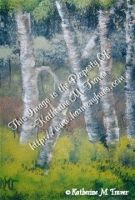 Birch Trees by Katrina1944