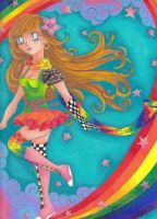 Tajina's Rainbow by Hurricane-Jeanne