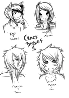 -Crack babies Batch 1- by Ask-TheGrimReaper