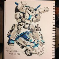 March of Robots 4/31 by Mecha-Zone
