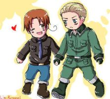 Chibi love by Germany-x-Italy-Fans