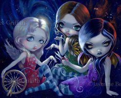 The Three Fates by jasminetoad