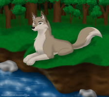 Aleu - Daughter of the halfbreed by Frozen-Fortune