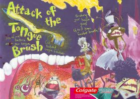 Colgate MegaFresh by invent-a-shell