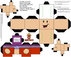 VG 3: Toad Cubee by TheFlyingDachshund
