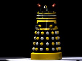 Black Dalek, 1965 Movie, I by Ralphmax
