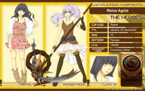 CR: Reina Character Sheet by frilla
