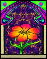 Flower Of Energy And Life by TechBehr