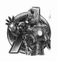 iron man - civil war by reniervivas666