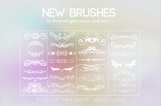 {New brushes} by Poqi