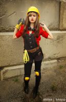 TF2 Fem Engineer Cosplay 5 by leAlmighty