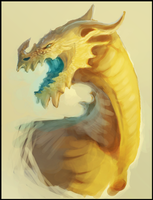 Dragon speed paint. by Sutorippu