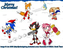 ::SONIC CHRISTMAS 2005:: by JenHedgehog