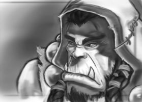 Sketch: Thrall by inkjetcanvas