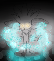 Silver The Hedgehog: Lights by Wolf-Eared-Girl