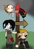 Request: Maeve Hawke n Anders by THUNDRkitty