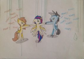 What the hell do you think man...? by MoonCloudTheBrony