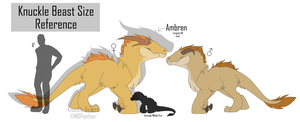 Knuckle Beast Size Chart by MBPanther