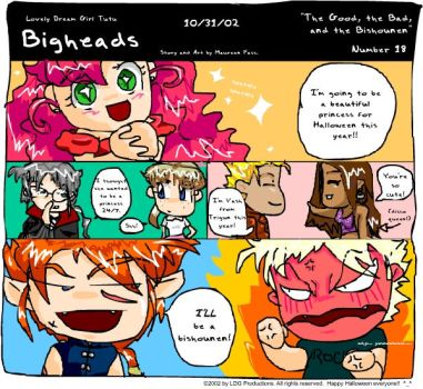 Bigheads number 18 by hermitkitty