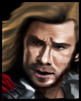 Thor by Faerie-Elf