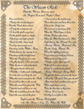 Book of Shadows: The Wiccan Rede by CoNiGMa