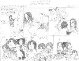 Council of black haired men 41 by eightcrows