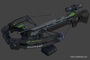 Barnett Ghost 400 Crossbow by ahriman3d