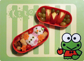 snowman bento by st3rn1