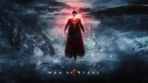 Man of Steel - Wallpaper 4 *blue* by visuasys