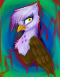 Gilda {Water Colour Test} by AppleEevee