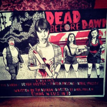 Dea Before Dawn 3D poster. by armstrong2112