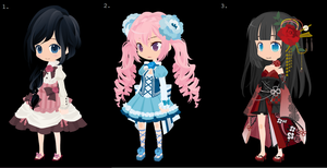 Dream Selfy Adoptables -Closed- by SweetCakeAdoptables