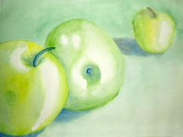green apples by ameliarose